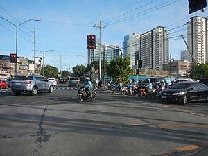 Kalayaan Avenue - Kalayaan Avenue, at the intersection of Lawton Avenue, north of Bonifacio Global City
