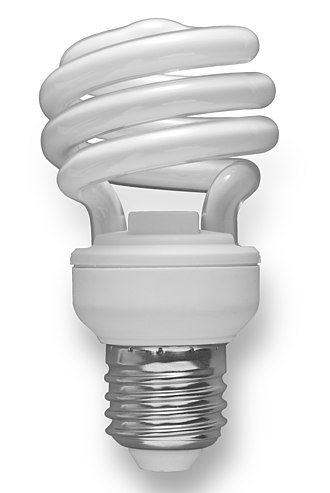 Phase-out of incandescent light bulbs - Compact fluorescent lamp