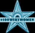 100wikiwomen Barnstar.png