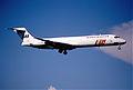 103dg - Scandinavian Airlines MD-87; LN-ROZ@ZRH;11.08.2000 (5552659369).jpg