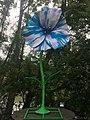 1090 Rossaußer Lände - Donaukanalradweg - Sommerstage Skulpturengarten - 50 Jahre Flower Power von Jacques Tilly 2018 IMG 7591.jpg