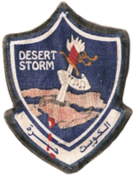 10th Tactical Fighter Squadron -1991 Desert Storm Patch