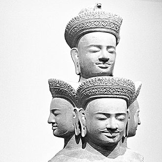 The 10th century five headed Shiva, Sadashiva, Cambodia. 10th century five headed Shiva Sadashiva Cambodia Metmuseum.jpg