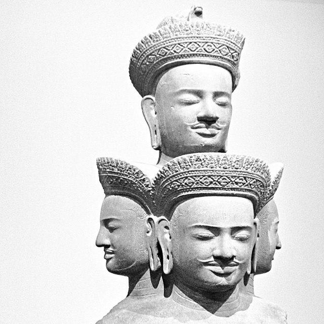 10th century five headed Shiva Sadashiva Cambodia Metmuseum