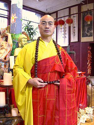 Shi Yan Ming - Shi Yan Ming at USA Shaolin Temple in Lower Manhattan, November 4, 2010.