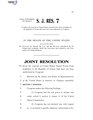 116th United States Congress S.J.Res. 007 (1st session) - A joint resolution to direct the removal of United States Armed Forces from hostilities in the Republic of Yemen that have not been authorized by.pdf