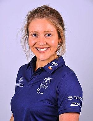 Annabelle Williams - 2012 Australian Paralympic Team portrait of Williams