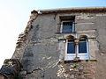 135 Can Carlí, c. Espilons (Monistrol de Montserrat), detall de la façana.JPG