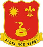 143rd Field Artillery Regiment DUI