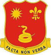 143rd Field Artillery Regiment DUI