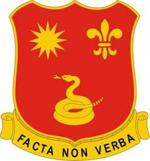 143rd Field Artillery Regiment - Image: 143rd Field Artillery Regiment DUI
