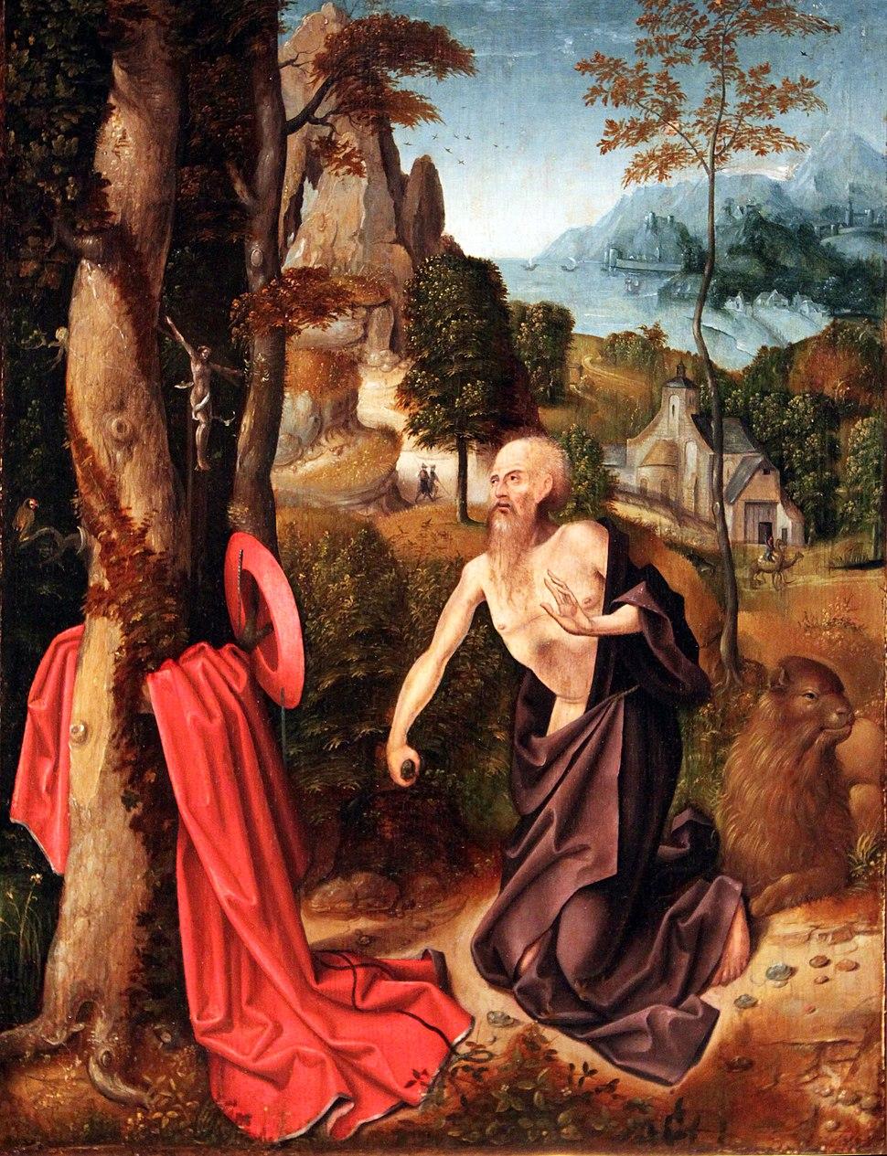 1520 Südniederländisch Hl. Hieronymus anagoria