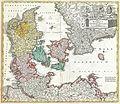 1730 Homann Map of Denmark - Geographicus - RegniDaniae-homann-1730.jpg
