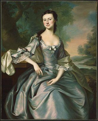 Charles Apthorp - Portrait of Charles' daughter, Susan Apthorp, 1757