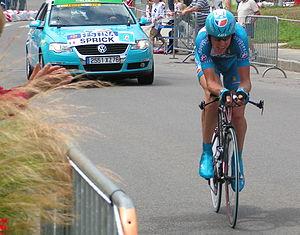 Matthieu Sprick - Sprick at the 2006 Tour de France.