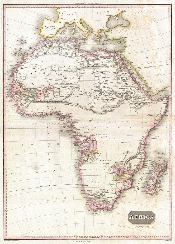 Image result for map of africa heart of darkness