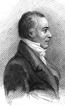 Portrait of Phillips, from Boston Monthly Magazine, 1825
