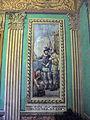 182 Casa Alegre de Sagrera (Terrassa), sala d'Hernán Cortés, plafó mural.JPG