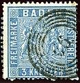 1861 3kr ultramarine Baden 66 Jestetten ID2236 Mi10b.jpg