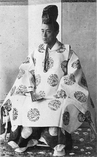 Tokugawa Yoshinobu - Tokugawa Yoshinobu as shōgun