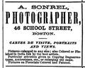 1868 Sonrel Photographers BostonDirectory.png
