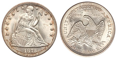 Coinage Act of 1873 - Wikipedia