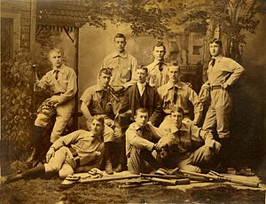 Michigan Wolverines baseball - 1886 Michigan baseball team