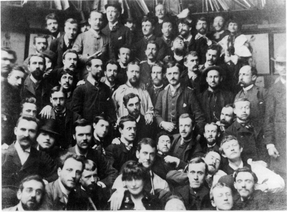 1886 group portrait Academie Julian
