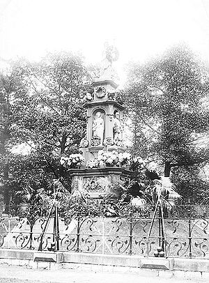 Fenian raids - Fenian Monument – Queen's Park, Toronto, Ontario, Canada ca. 1890