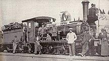 Zimbabwe-Colonial era and Rhodesia (1888–1964)-1899railroad salisbury
