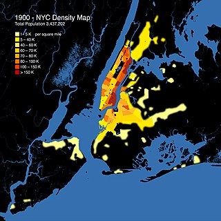 Demographic history of New York City