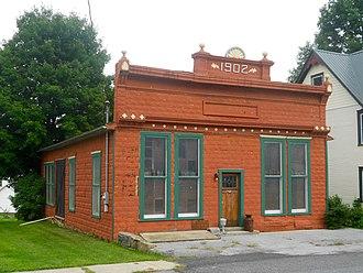 Howard, Pennsylvania - 1902 building across from Borough Park