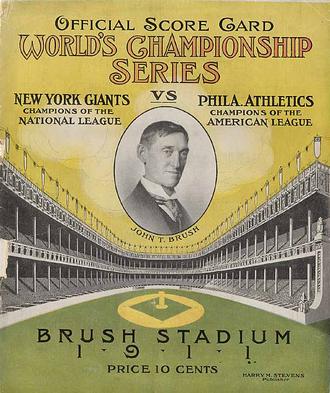 1911 World Series - Image: 1911World Series