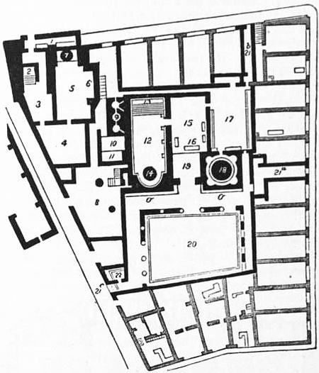 1911 Britannica - Baths - Plan of the baths of Pompeii.png