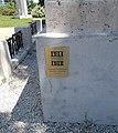 1914 1918 Centenáriumi Emlékbizottság jele az I. világháborús emlékmű talapzatán, 2018 Ráckeve.jpg
