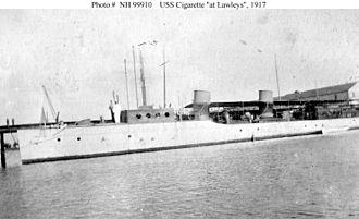 George Lawley & Son - USS Cigarette, Boston, 1917