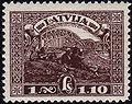 19281118 1lats Latvia Postage Stamp.jpg
