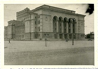 Donetsk State Academic Opera and Ballet Theatre named after A. Solovyanenko - Donetsk Opera Theatre during Nazi occupation, 1941-1943