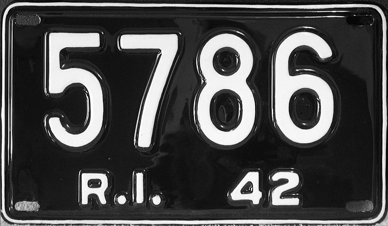 File:1942 Rhode Island license plate.jpg