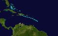 1945 Atlantic tropical storm 3 track.png