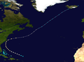 1949 Atlantic hurricane 1 track.png