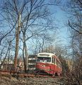 19660414 02 PAT PCC Streetcar Mt. Lebanon, Pennsylvania (7559218380).jpg