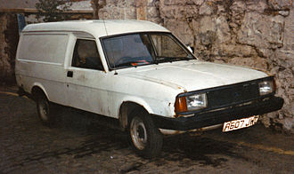 Morris Ital - 1984 Morris Ital Van (1.3)
