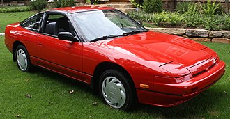 Nissan 240SX - 1990 Nissan 240SX XE Hatchback (S13) in the USA.