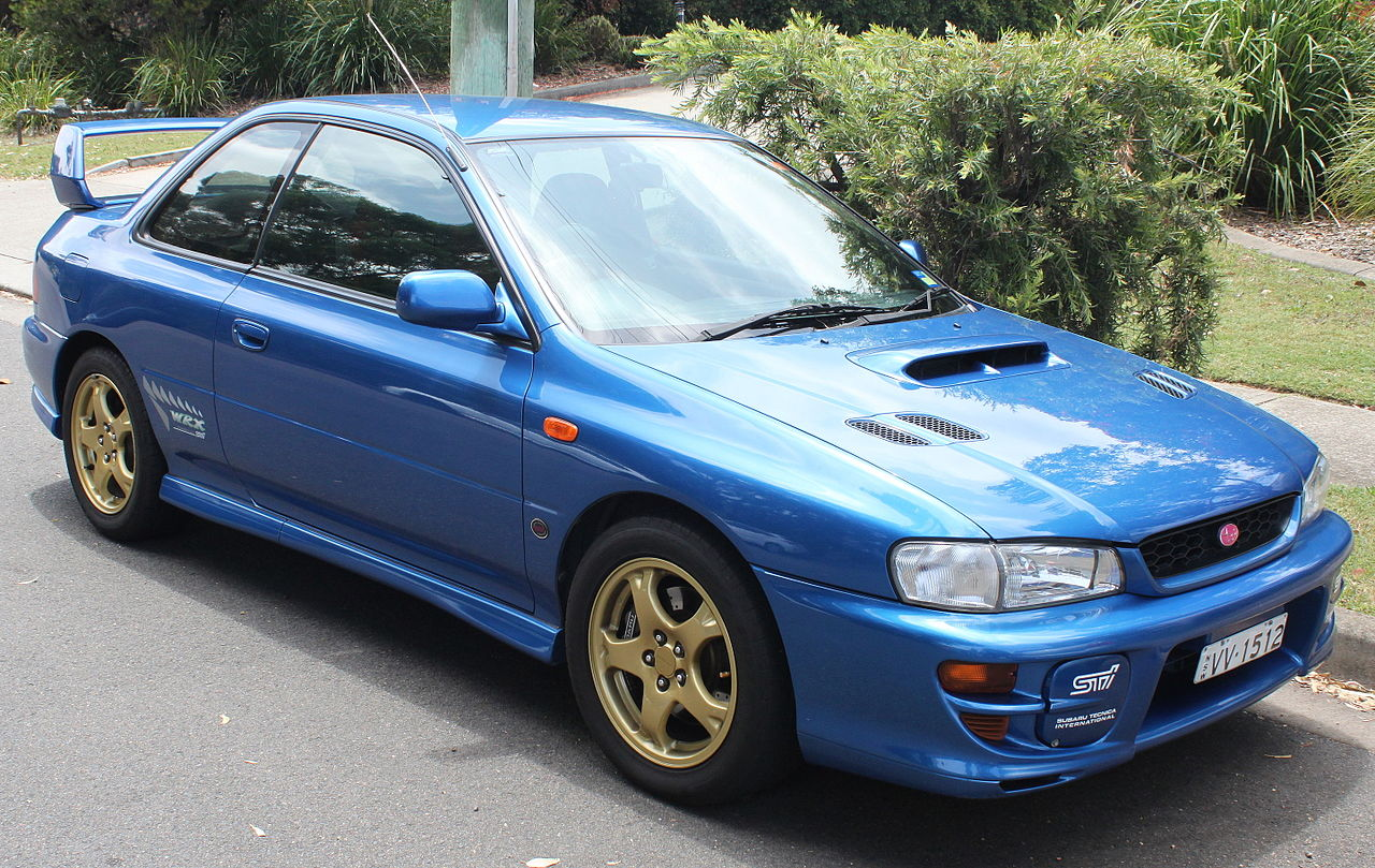 1999 Subaru Impreza Rs Coupe 2 5l Awd Manual