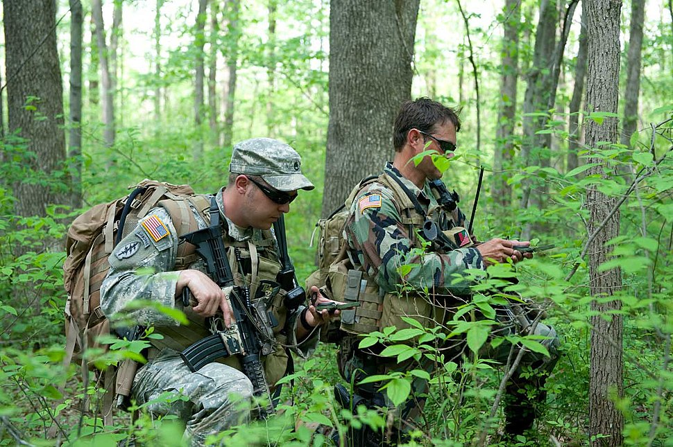 19th Special Forces Group Land Navigation Training
