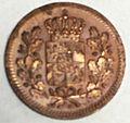 1 heller 1852 Bayern obverse.jpg