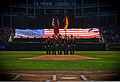1st Cavalry Division Honor Guard at 2010 ALDS Game 4.jpg