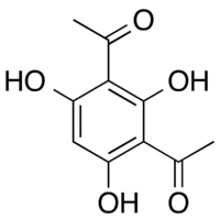 Chemical structure of 2,4-diacetylphloroglucinol
