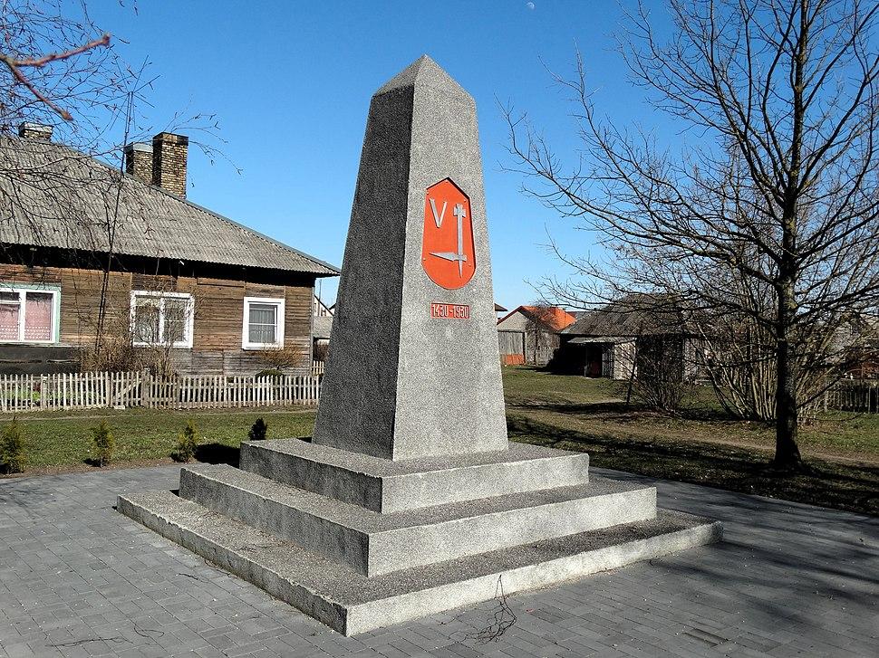 2. Radviliškis. Vytauto paminklas